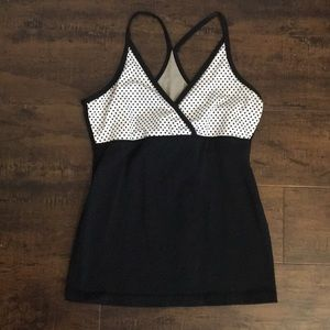 Lululemon athletica built in bra top.